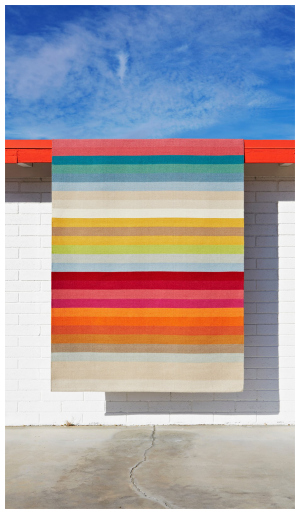 Lovely Colorful rug byArmadillo & Co