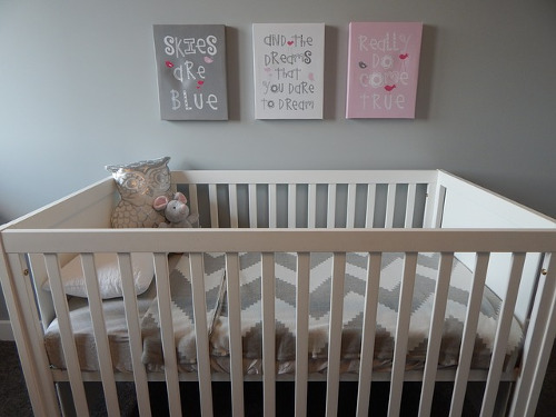 Crib upcycle ideas
