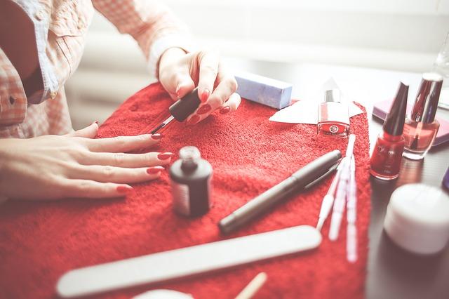 Nail polish work