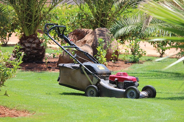Lawn mowing equipment