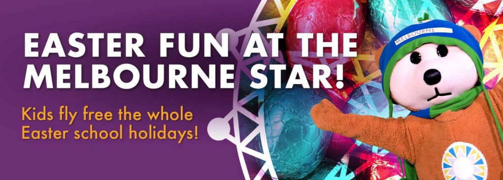 Easter fun at the Melbourne Star